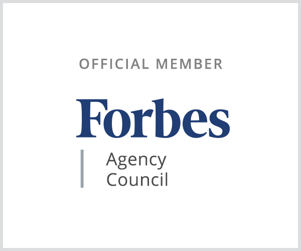 forbes agency council official member badge