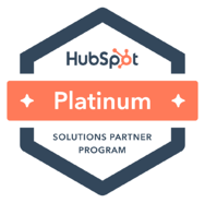 HubSpot Platinum Partner Solutions Badge